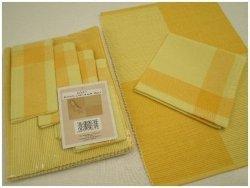 Podkładki na stół + Serwetki x 4-szt - Żółte