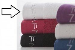 Ręcznik - Biały - 100% Bawełna - 70x140 cm