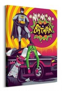 DC Batman (Bright) - Obraz na płótnie