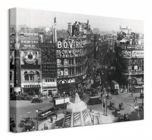 Obraz na płótnie - Time Life (Piccadilly Circus, Londyn 1942)