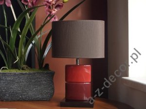 Lampka nocna - Czerwona - CHANEA Petit - 25x15x43cm