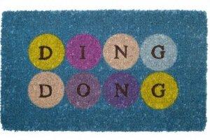 Wycieraczka wejściowa - Ding Dong - Włókno Kokosowe