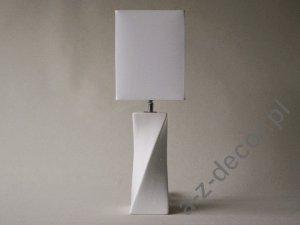 Lampka nocna - S-TWISS -  Biała 17x52cm