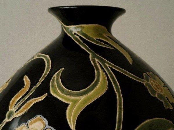 Wazon ceramiczny - Zdobiony - 24x20cm