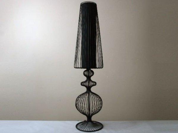 Lampa podłogowa - Ażurowa stojąca - 24x100cm