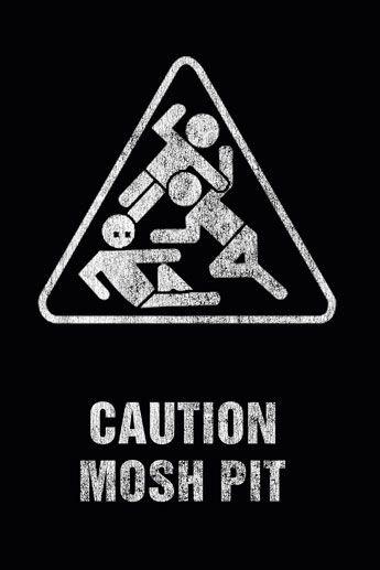 Art Worx Mosh Pit Plakat