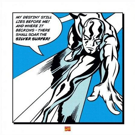 Silver Surfer (My Destiny) - reprodukcja