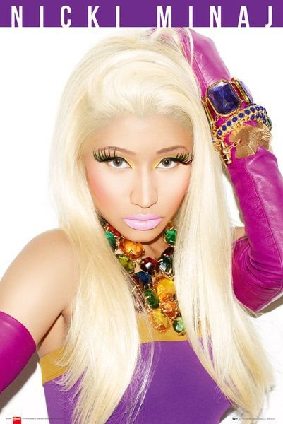 Nicki Minaj Starships - plakat