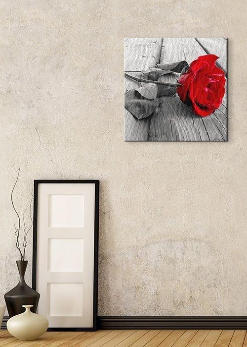 Obraz Ścienny - Róża na Pomoście - 40x40cm