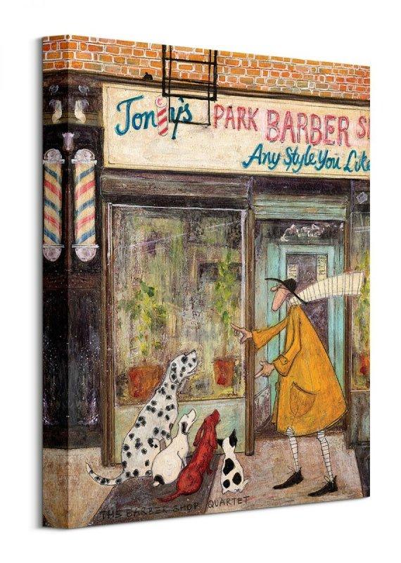 The Barber Shop Quartet - obraz na płótnie