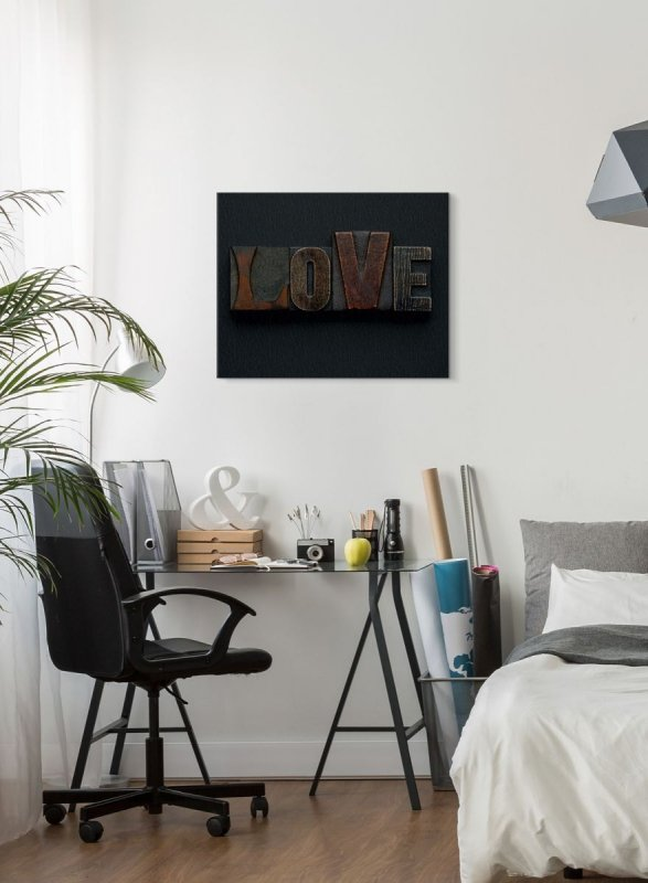 Love - obraz na płótnie