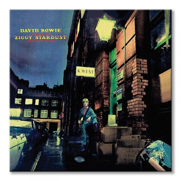 David Bowie Ziggy Stardust - obraz na płótnie