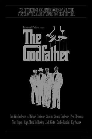 The Godfather (The Corleone Family) - plakat