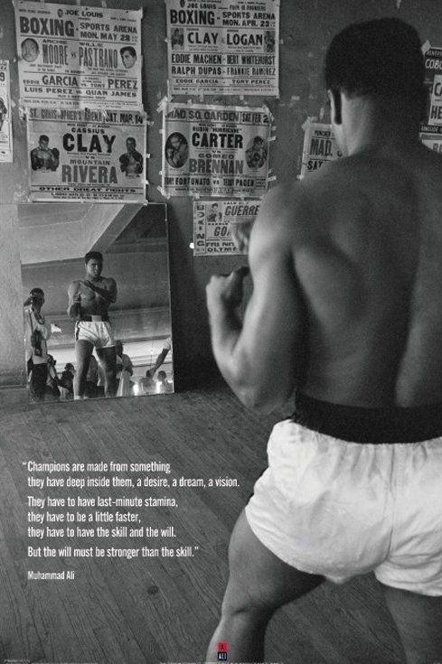 Muhammad Ali (Gym) - plakat