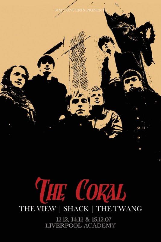 The Coral (Tour) - plakat