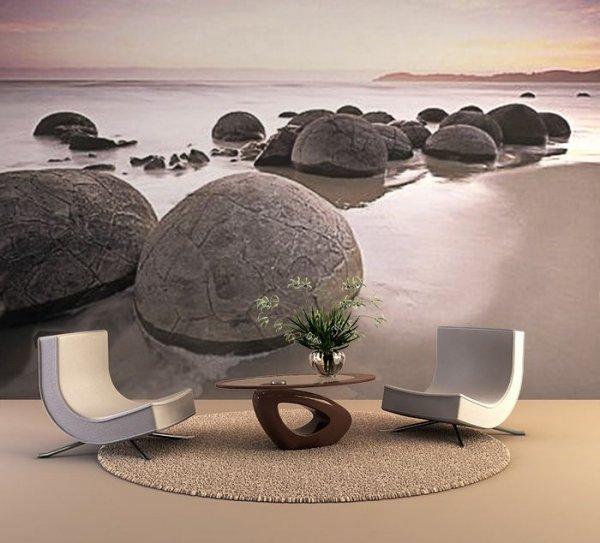Fototapeta kamienie Moeraki Boulders At Oamaru - Sklep
