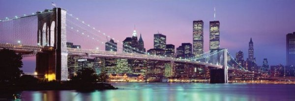 New York Skyline - plakat