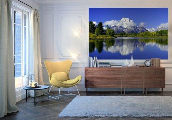 Fototapeta na ścianę - Górska Refleksja - 175x115 cm