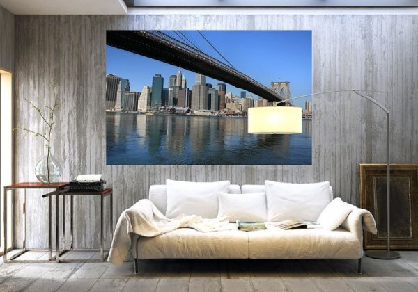 Fototapeta do sypialni - Most New York - 175x115 cm