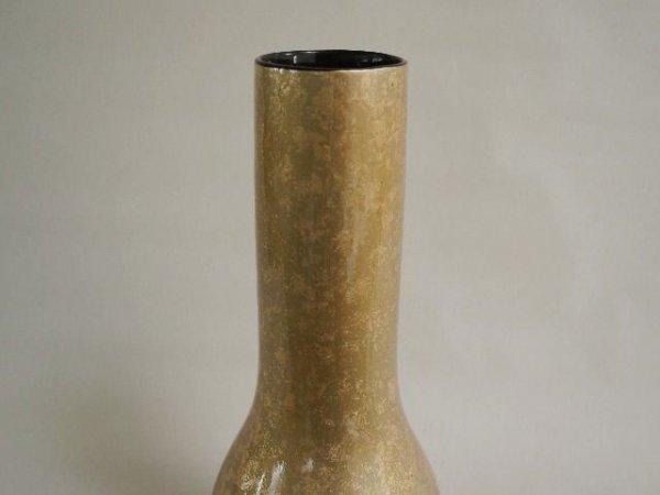 Wazon ceramiczny - Stare złoto - 23x58cm