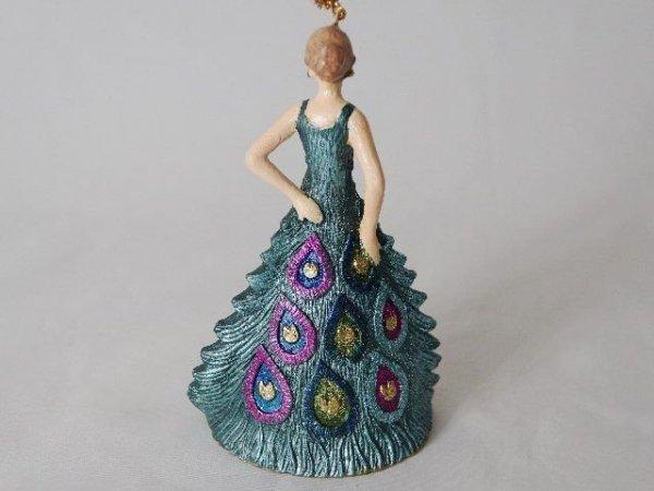 Ozdoba choinkowa - Lady 11,5cm - (6szt. w opakowaniu)