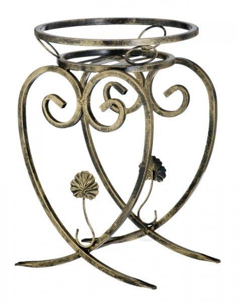 Kwietnik metalowy - Stojaki na kwiaty - Serce