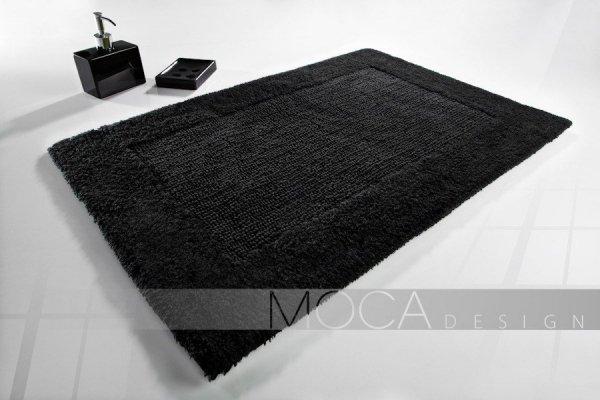 Dywanik łazienkowy - Czarny - 60x105cm
