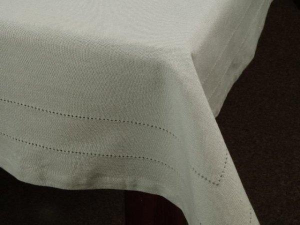 Obrus na stół - Szary - 100% Bawełny - 140x140cm