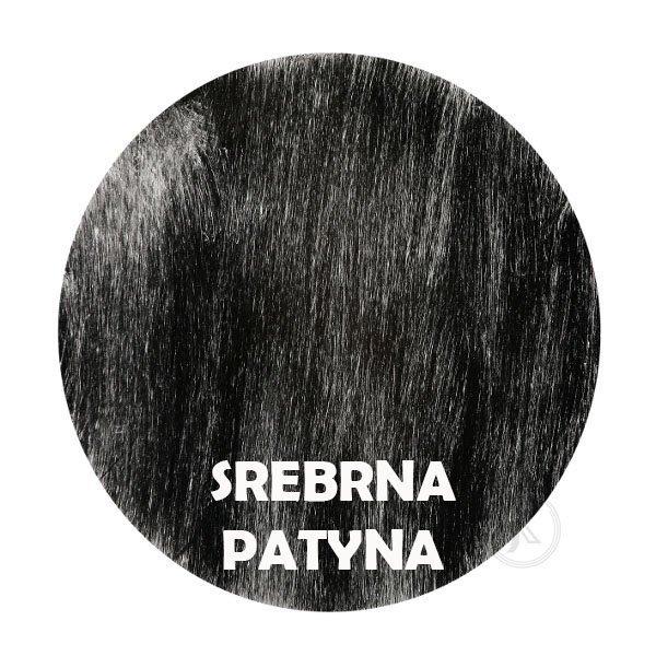 srebrna patyna - Kolorystyka metalu - Kwietnik metalowy - Decoart24.pl