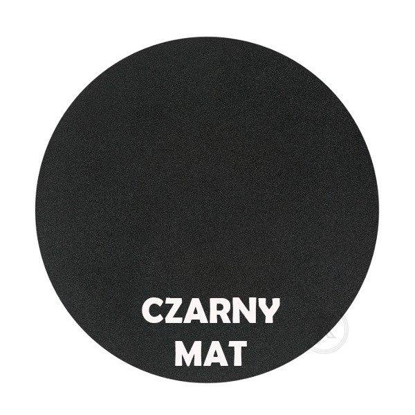Czarny mat - Kolor kwietnika - Wąsy - DecoArt24.pl