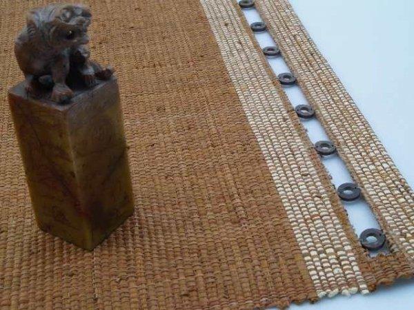 Podkładka na stół - Brązowa - Z raffi - 33x48cm