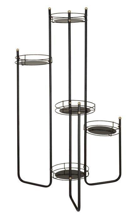 Kwietnik metalowy - Stojak na kwiaty - Rurka 5L