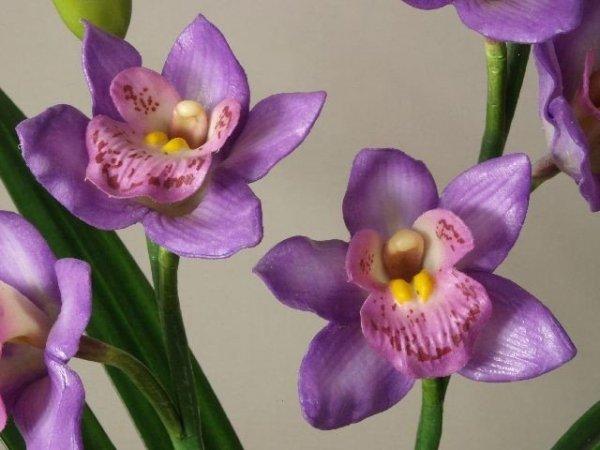Sztuczne storczyki - Orchidea - W doniczce -  decoart24.pl