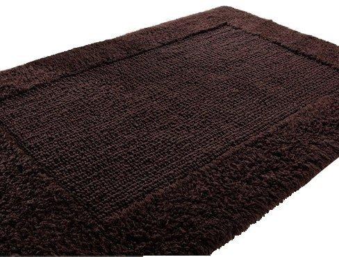 Dywanik łazienkowy - 50x75cm - Brąz