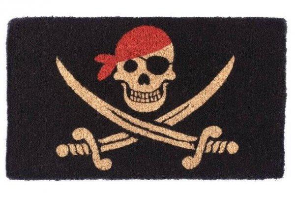 Wycieraczka wejściowa - Black Pirate