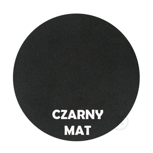 Czarny mat - kolorystyka metalu - Kwietnik metalowy - Stojak - Sklep