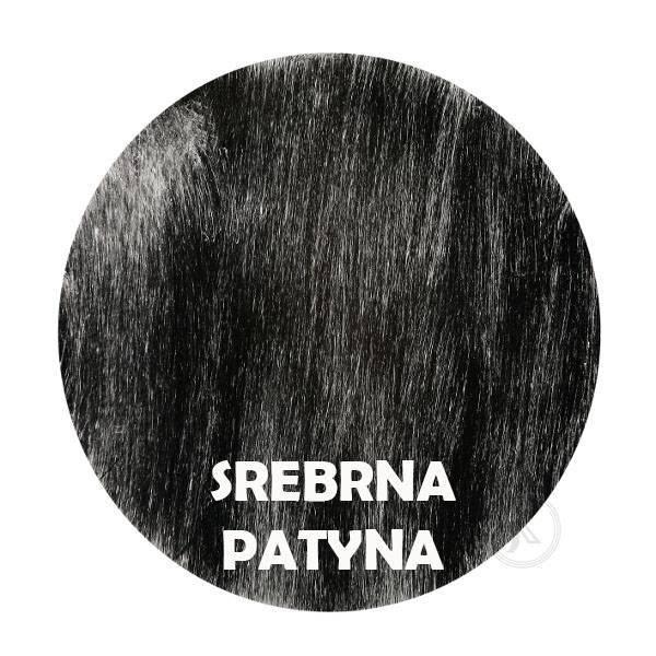 Srebrna Patyna - Kolor Kwietnika - Rower duży - DecoArt24.pl