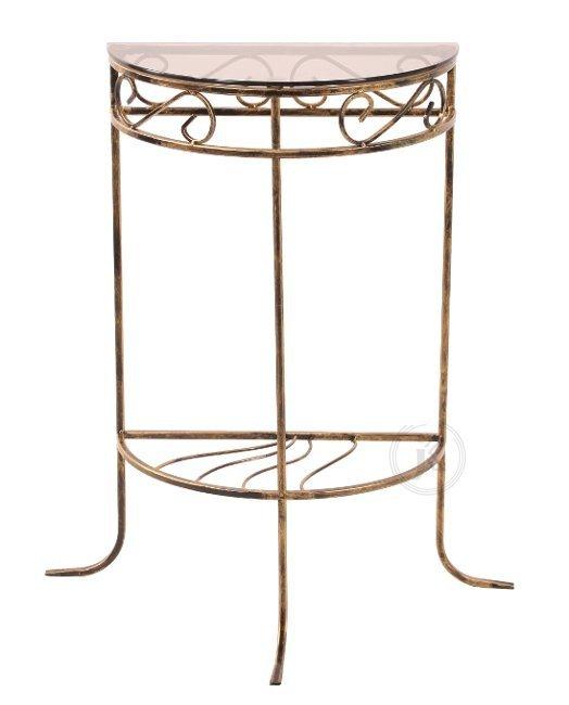 Stolik szklany - ½ mały