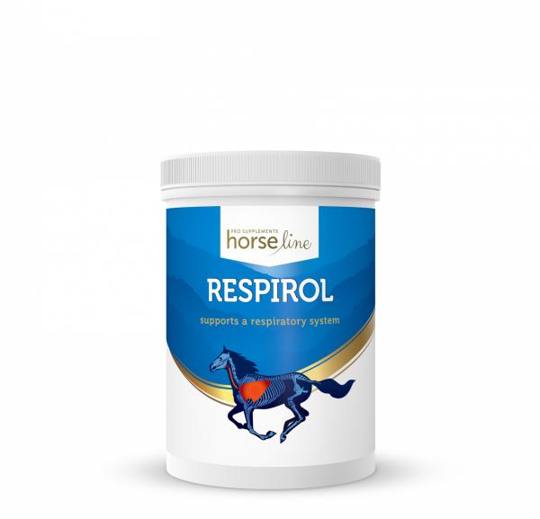 HorseLinePRO Respirol Preparat wspomagający układ oddechowy 600g 24H