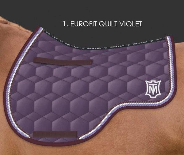 MATTES EUROFIT QUILT SHEEN Czaprak profilowany wszechstronny