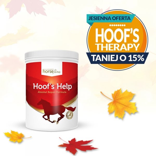 HorseLinePRO Hoof`s Help Regeneracja i wzmocnienie słabych kopyt konia 1500g 24H*