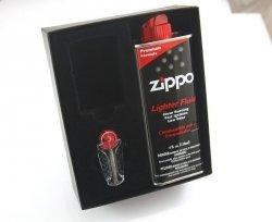 Pudełko Upominkowe Benzyna kamienie Zippo Classic