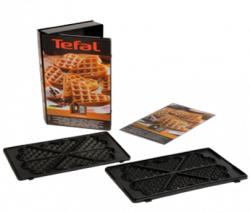 Zestaw do przygotowywania gofrów w kształcie serca XA800612 Tefal Snack Collection
