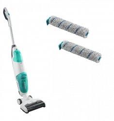 Odkurzacz myjący bezprzewodowy Leifheit 11922 Regulus Aqua PowerVac 2w1 | 24V | 2 rolki czyszczące