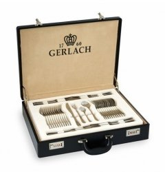 Sztućce Gerlach NK 58CP Valor - 68 sztuk dla 12 osób, POŁYSK, walizka