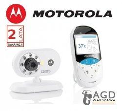 Niania elektroniczna Motorola MBP 27 Video Baby Monitor z funkcją termometru bezdotykowego