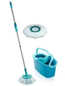 Mop okrągły obrotowy Leifheit Clean Twist ERGO + dodatkowa nakładka | 52101/52095