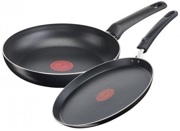 Patelnia 24/NALEŚNIKOWA Tefal Simple Cook ZESTAW B55604/B55610