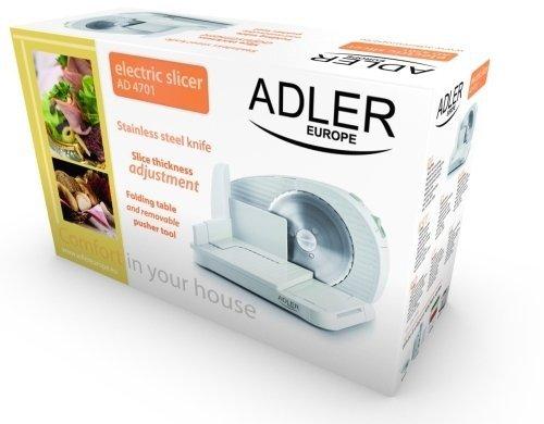 Krajalnica Adler AD 4701 do chleba, wędlin, sera