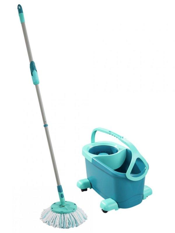 Mop obrotowy z kółkami Leifheit 52102 Clean Twist ERGO | Okrągły z kółkami